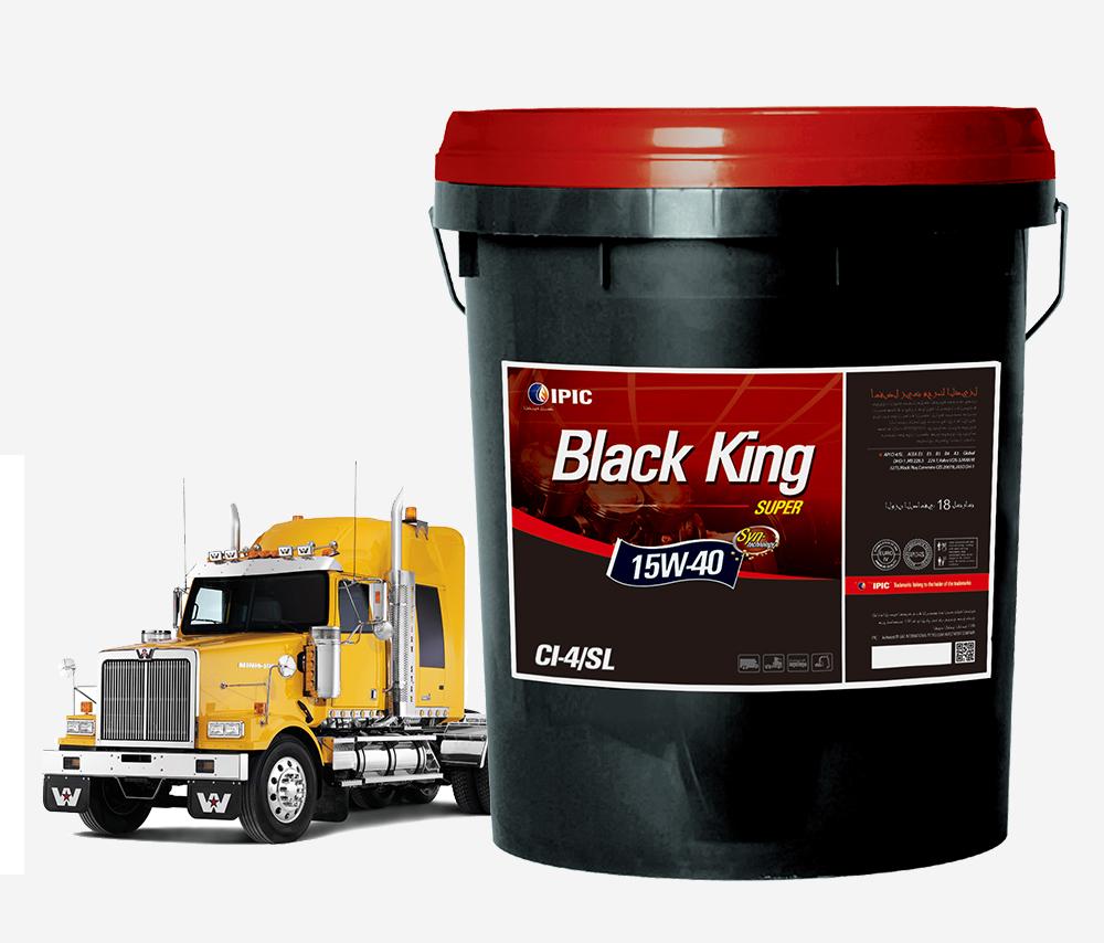 超级黑皇——CI-4/SL顶级柴油发动机润滑油18L