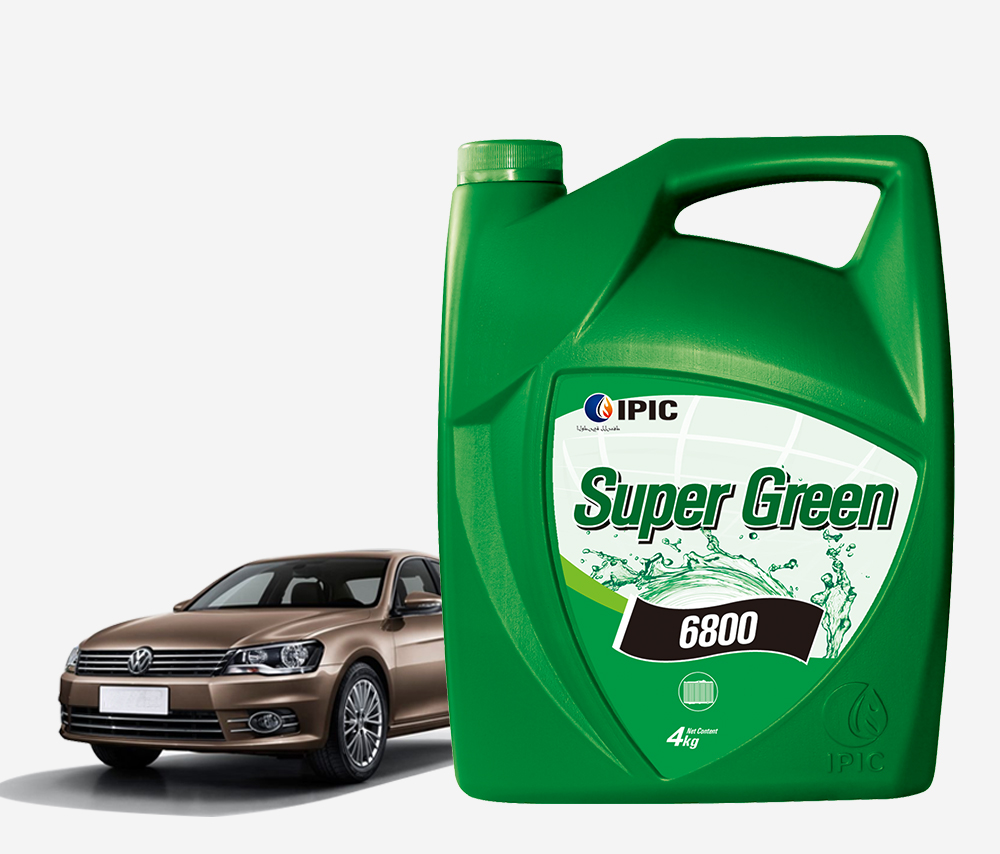 超绿——水箱冷却液4L